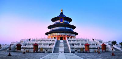 معبد السماء في العاصمة بكين الصينية
