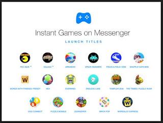fitur game facebok messenger