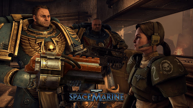 Screenshot from Warhammer 40,000: Space Marine