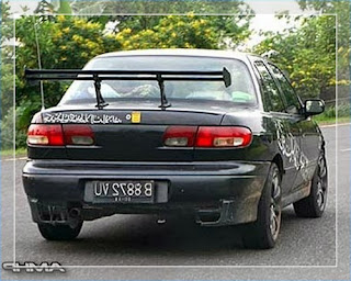 modifikasi mobil timor warna silver modifikasi mobil timor sport