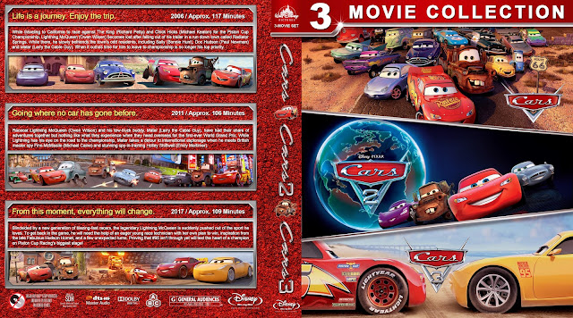 Cars Collection Bluray Cover