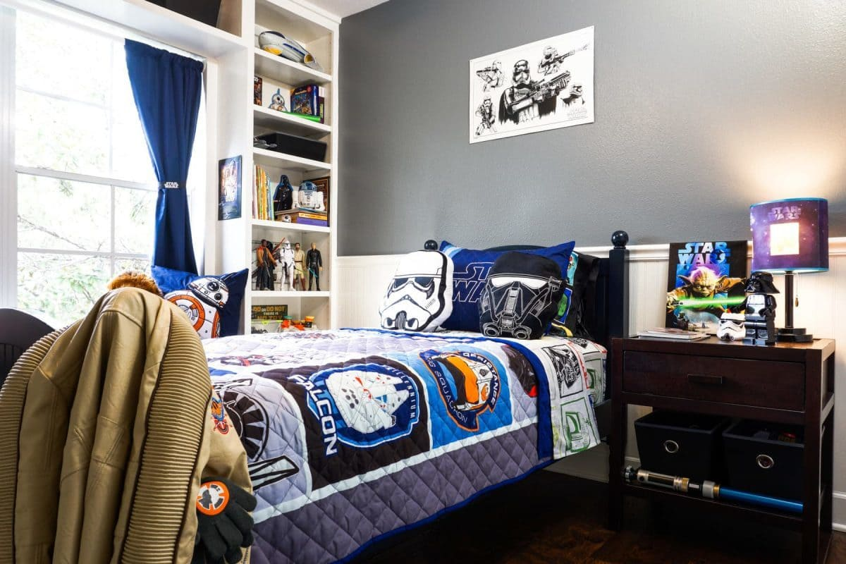 Star Wars Bedroom Ideas Themes Woven By Words May The Fourth Be With You