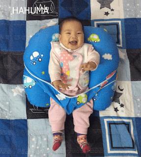Gối cho bé bú Hahuma chữ C đa năng