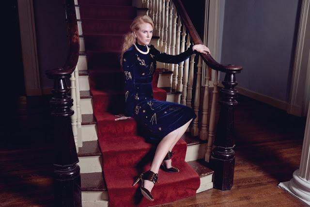 Nicole Kidman en couverture du magazine FLAUNT du mois de Novembre 2016