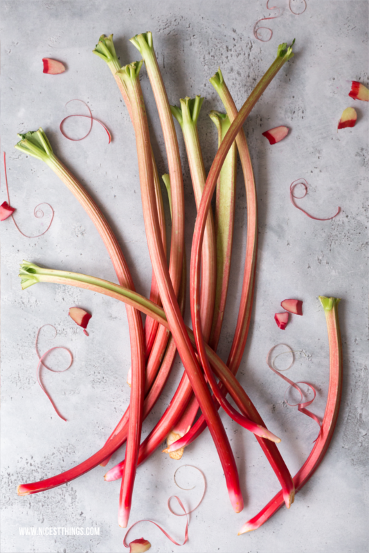 Rhabarber Food Photography und Styling