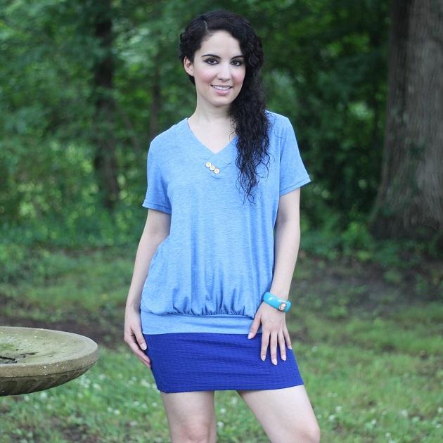 Light Blue Tee Shirt