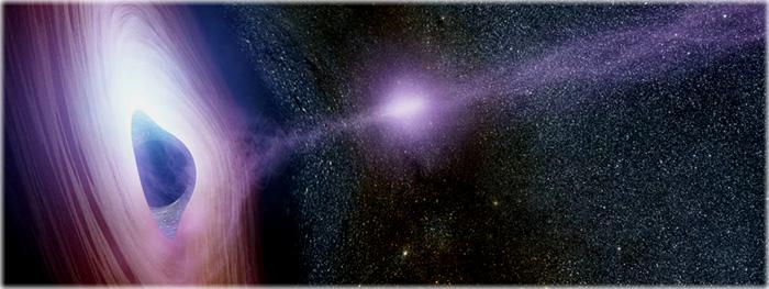 Ironia astronômica - buracos negros podem ter tirado o Universo da escuridão