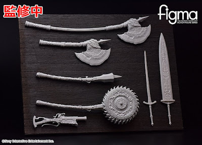 Figma Hunter Weapon Set de Bloodborne