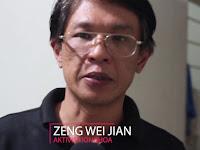 Zeng Wei Jian: Ada Kekuatan Jahat Masuk Istana