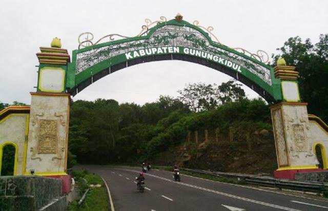 Daftar Kode Pos Yogyakarta: Kabupaten Gunung Kidul