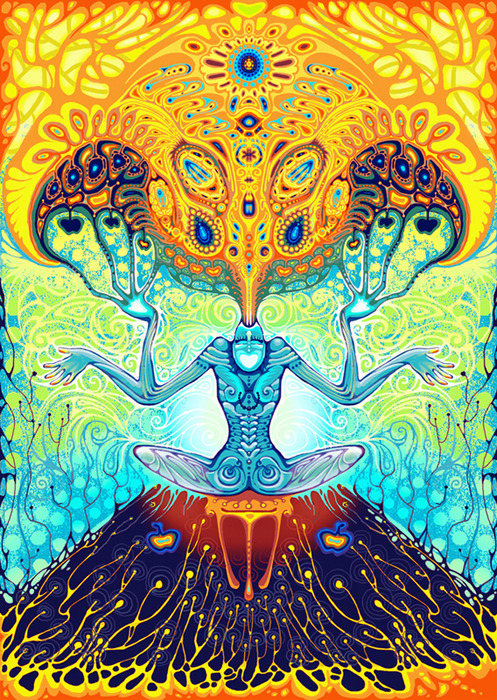 1000 images about psychedelic wallpaper on pinterest - Trippy nature wallpaper ...