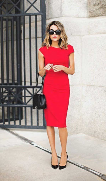 Sexy Short RED Dress for Valentines Day I Outfit Ideas