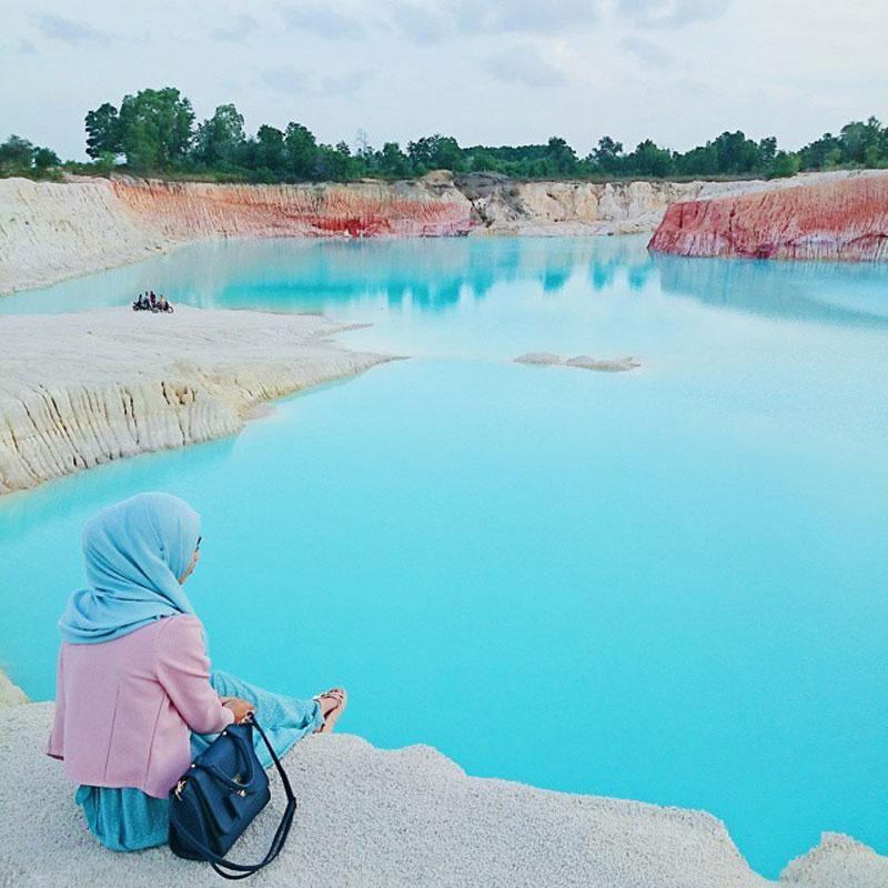 Image result for Danau Biru Busung, Bintan, Kepulauan Riau