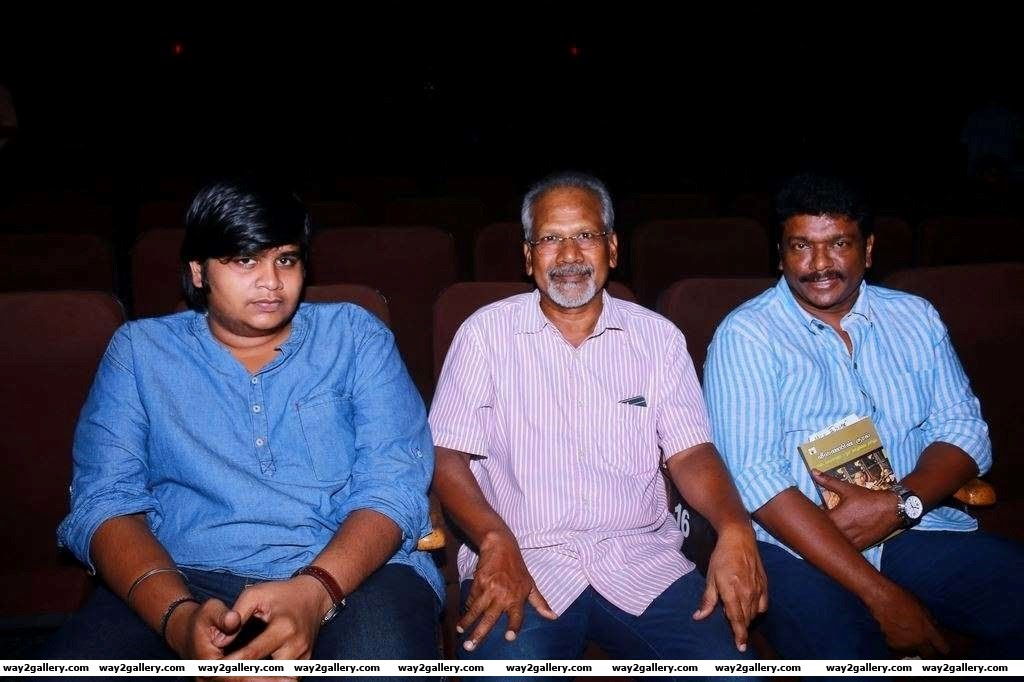 Karthik Subbaraj Mani Ratnam and Parthiban descended at the Veena doyen S Balachander tribute event