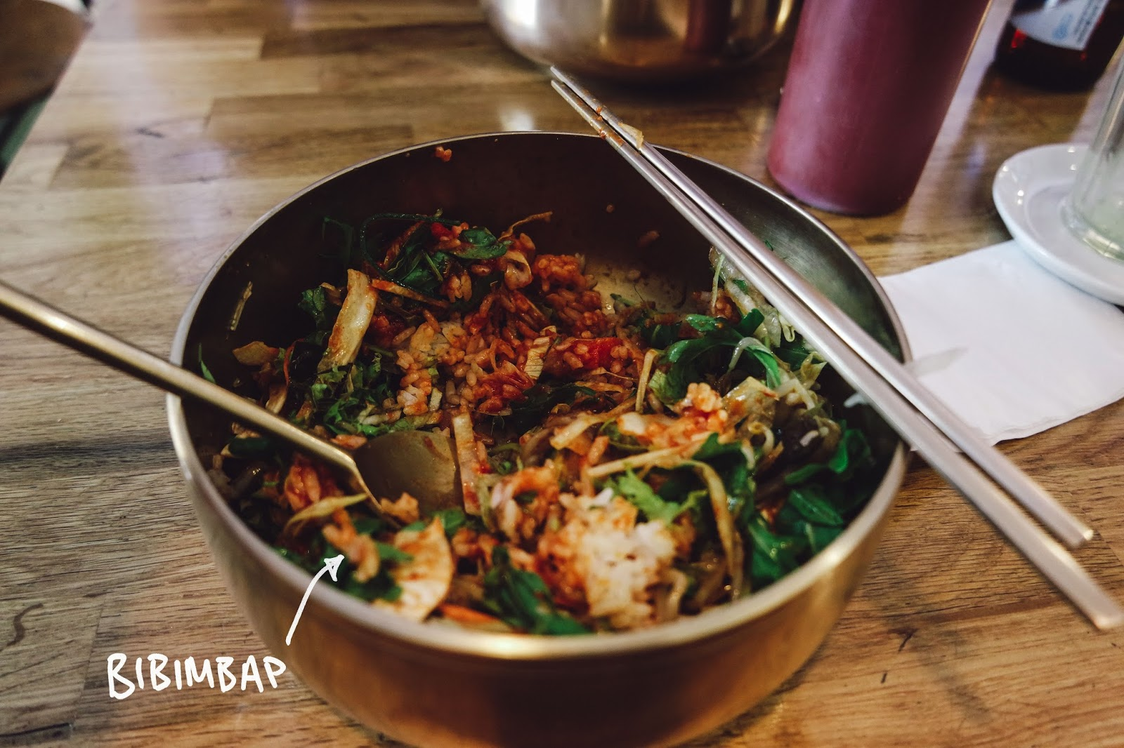 cafe gong gan berlin food korean bibimbap 3