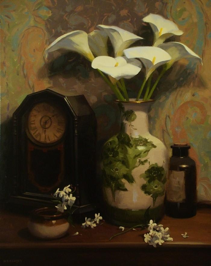 Рисунки цветов. Laurie Kersey 7