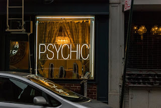 A psychic medium is someone who is believed to have extrasensory powers.