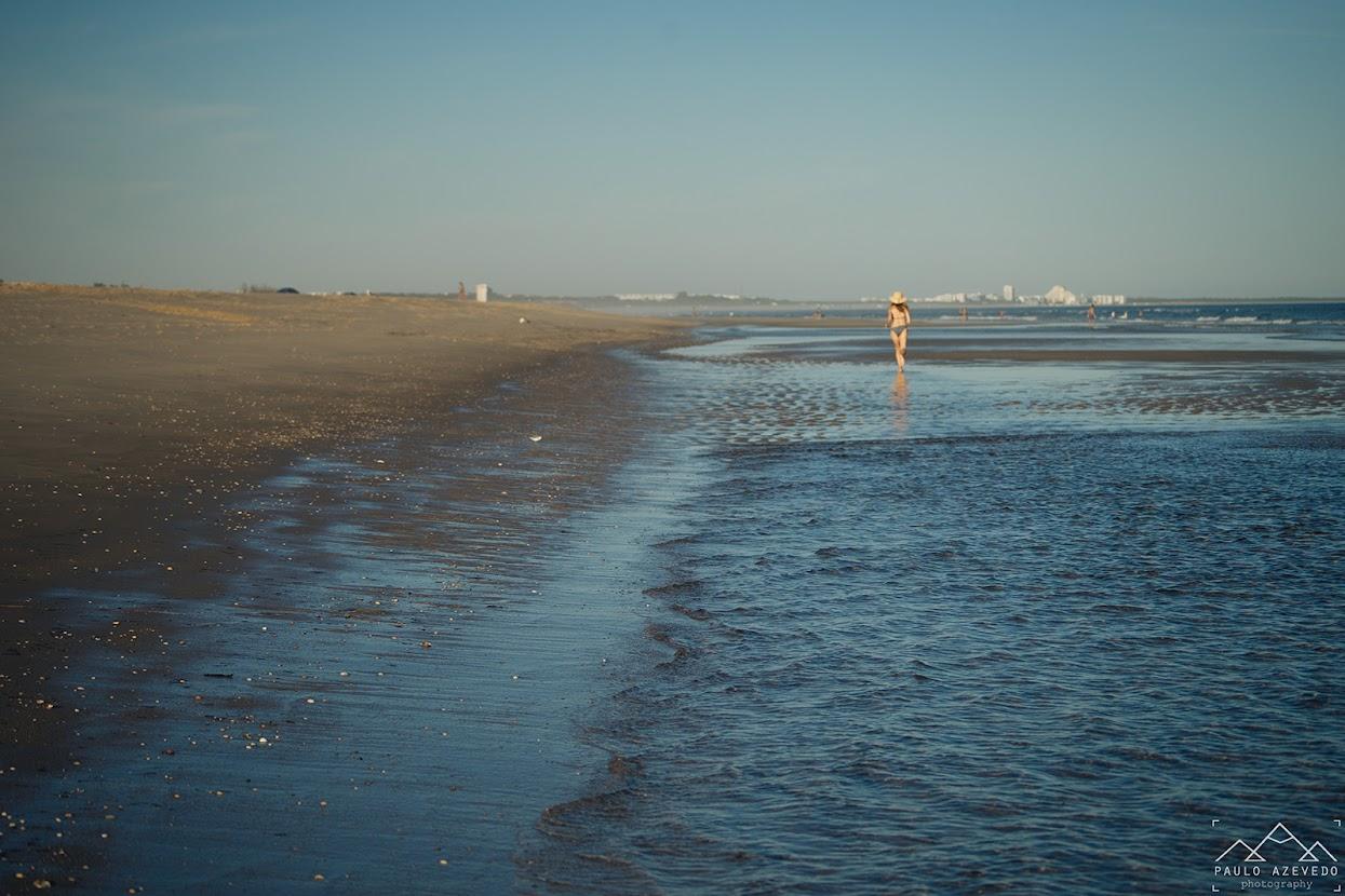 Corrida no areal da praia da Fábrica