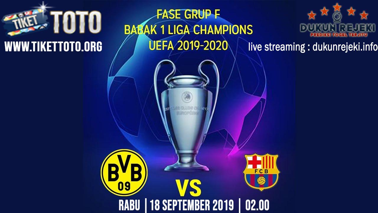 Prediksi UEFA Champions Dortmund Vs Barcelona 18 September 2019