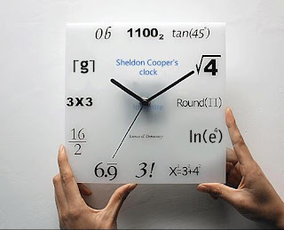 Sheldon Cooper's Clock