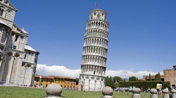 E la Piccola pie torre de Pisa