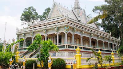Sóc Trăng có chùa gì nổi tiếng - Chùa Chén Kiểu