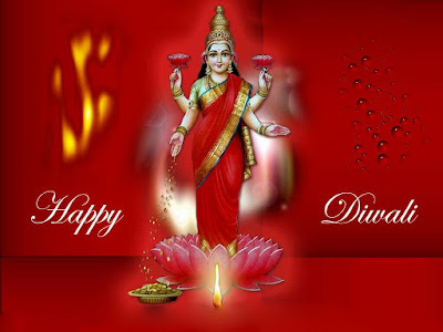 Mata Laxami images of Happy Diwali