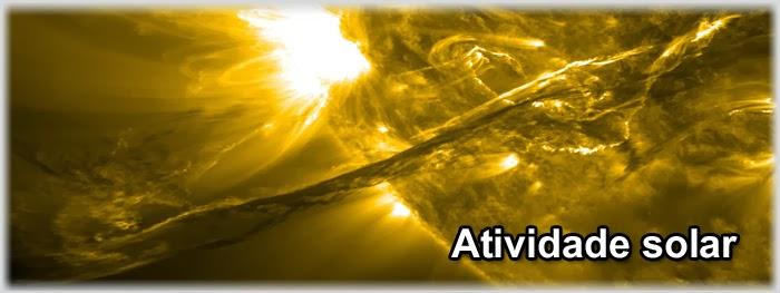 filamento de plasma se desprende do Sol