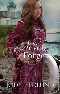 Miss Pippi Reads reviews Never Forget by Jody Hedlund