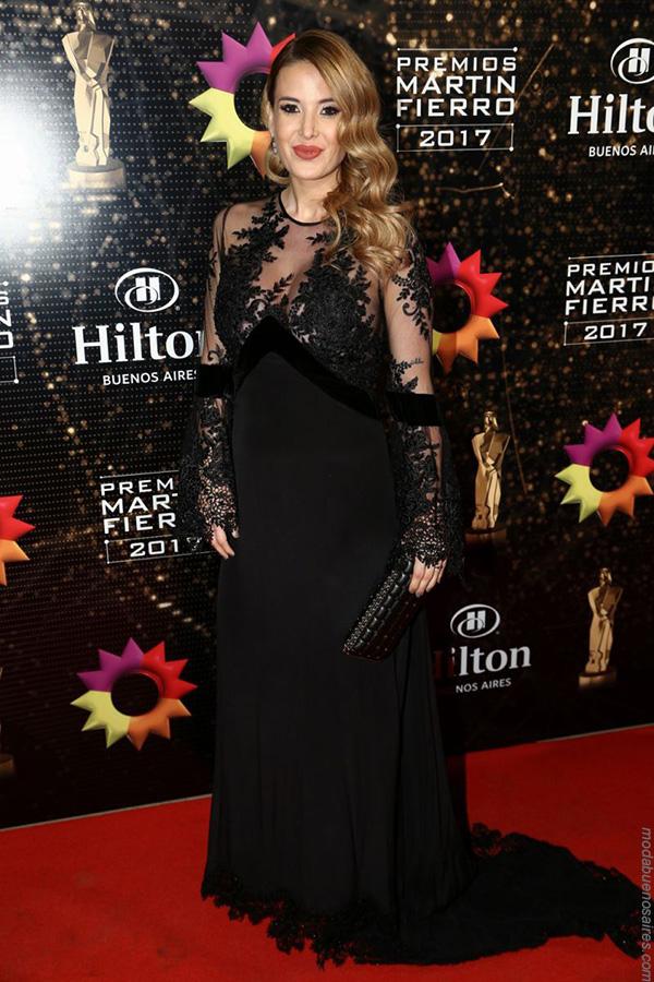 Looks Martin Fierro 2017. Los mejores looks de los premios Martin Fierro 2017. Moda 2017.