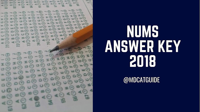 nums answer key 2018