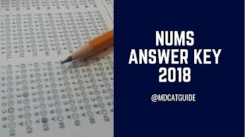 NUMS Roll No Slip 2019 (Print Now) | MDCAT Guide