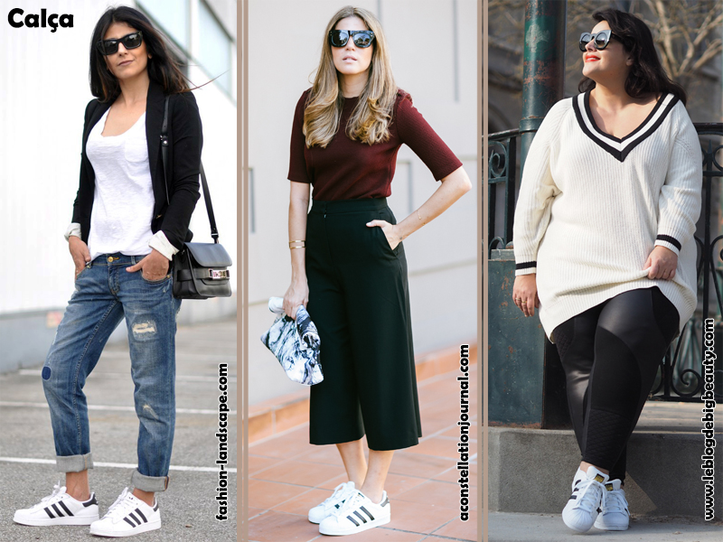 Tênis Adidas Superstar Como Usar Look Moda Estilo Fashion Tendência Sportwear Calça