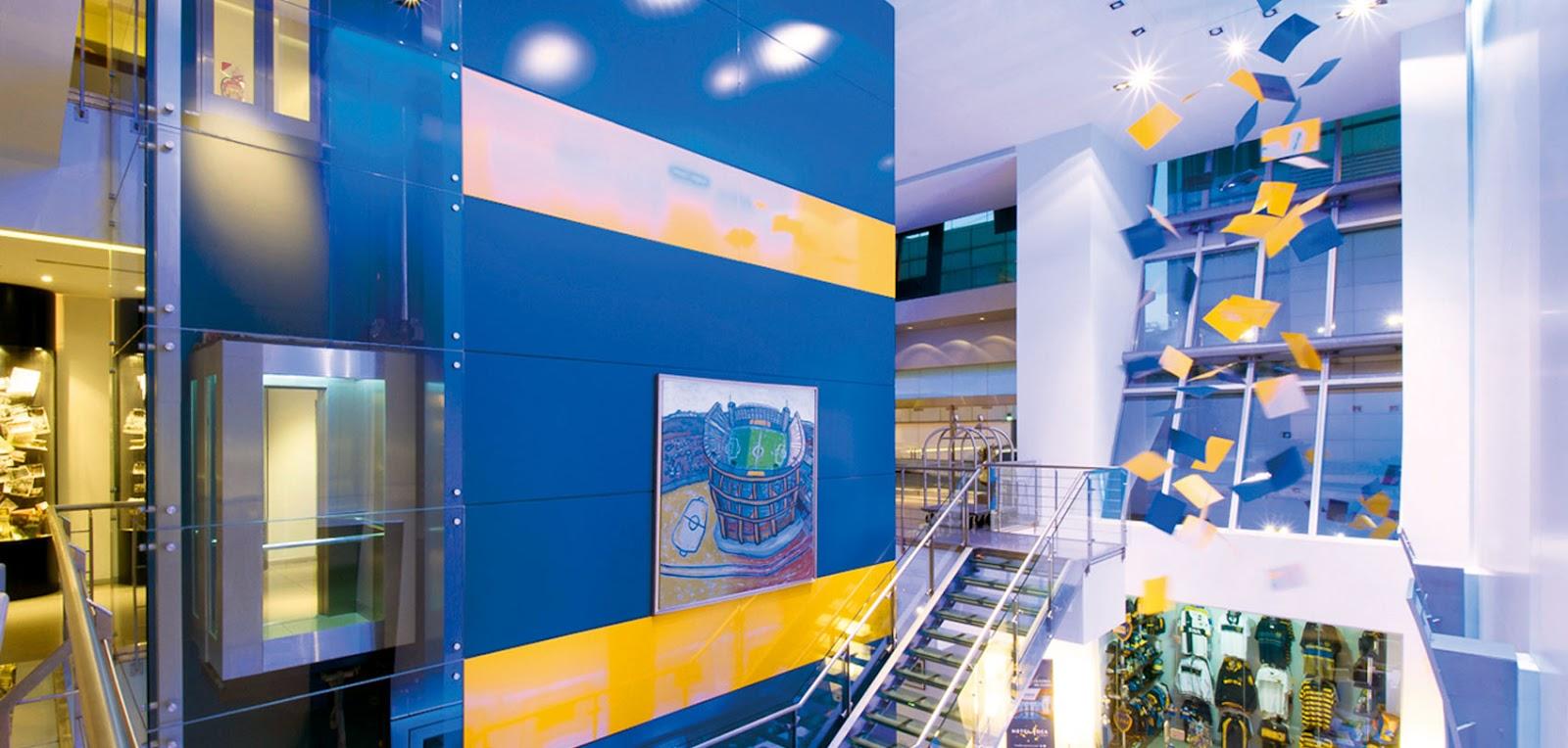 Los 5 hoteles m s futboleros del mundo viajabonito for Hotel design bs as