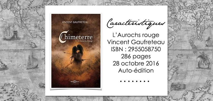 L'Aurochs Rouge de Vincent Gaufreteau