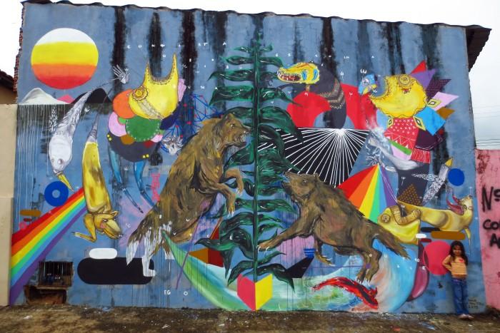 Уличный художник. Zeh Palito 21