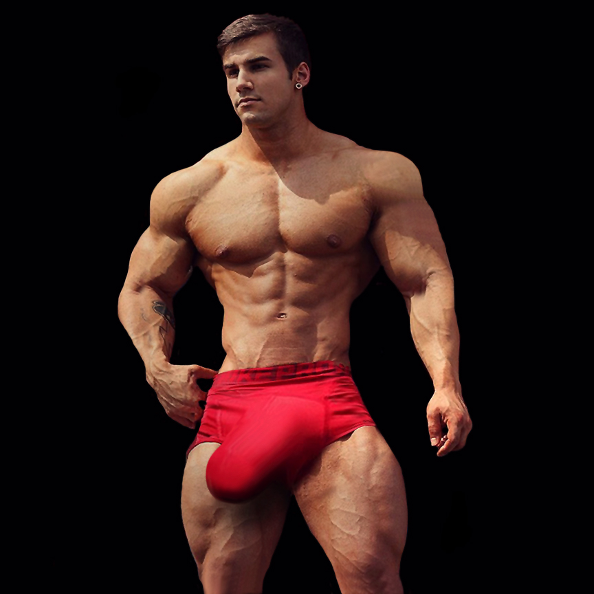 Gigantic Huge Meat Two Breathtaking, Bulging Bodybuilders -2517