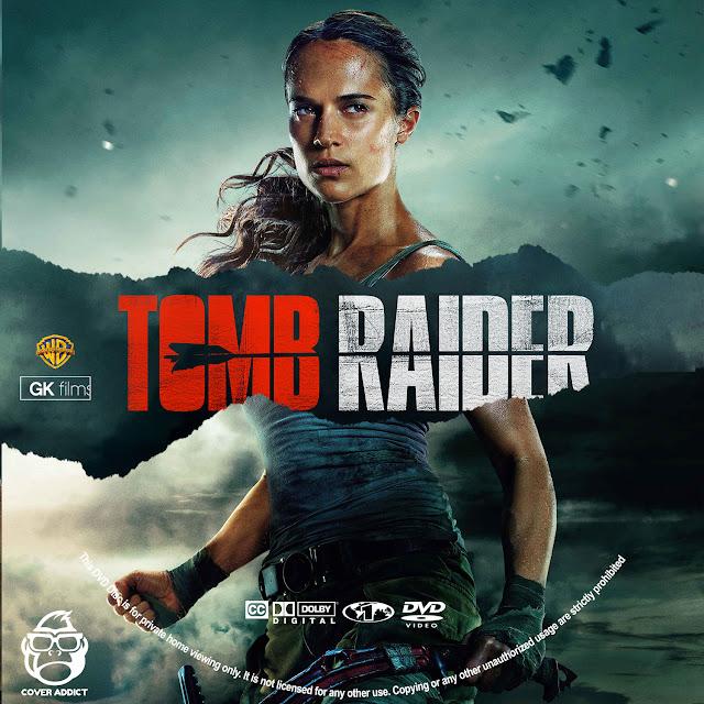 Tomb Raider DVD Label
