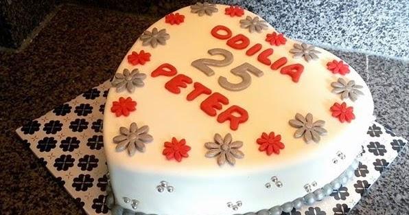 Beste Liza's Taarten & Cupcakes: 25 jaar getrouwd WR-45