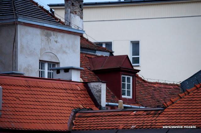 Warszawa Warsaw willa art deco Józef Czajkowski lata 20 Śródmieście Mieczysław Felicja Szerer dach