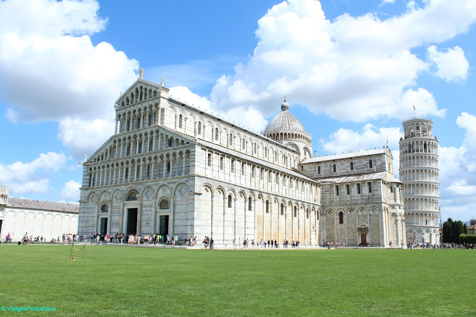 Catedral de Pisa, Toscana, Torre Pendente, Art romànica, Itàlia