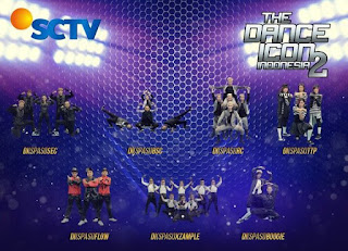 12 Besar The Dance icon 2 Crew