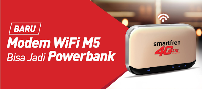 Mifi M5 dari Smartfren, Partner Tangguh Generasi Zaman Now