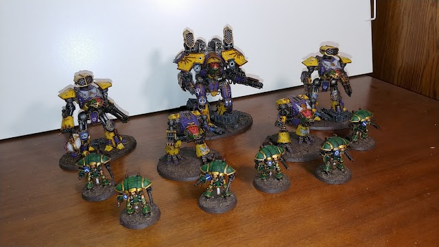 What's On Your Table: Adeptus Titanicus