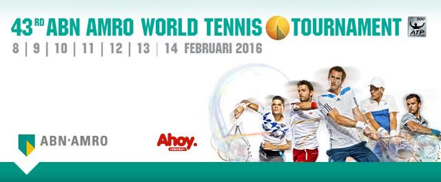 Watch The 43rd ABN AMRO World Tennis Tournament 2016 Live