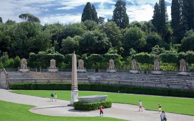 Sobre o Palácio Pitti em Florença