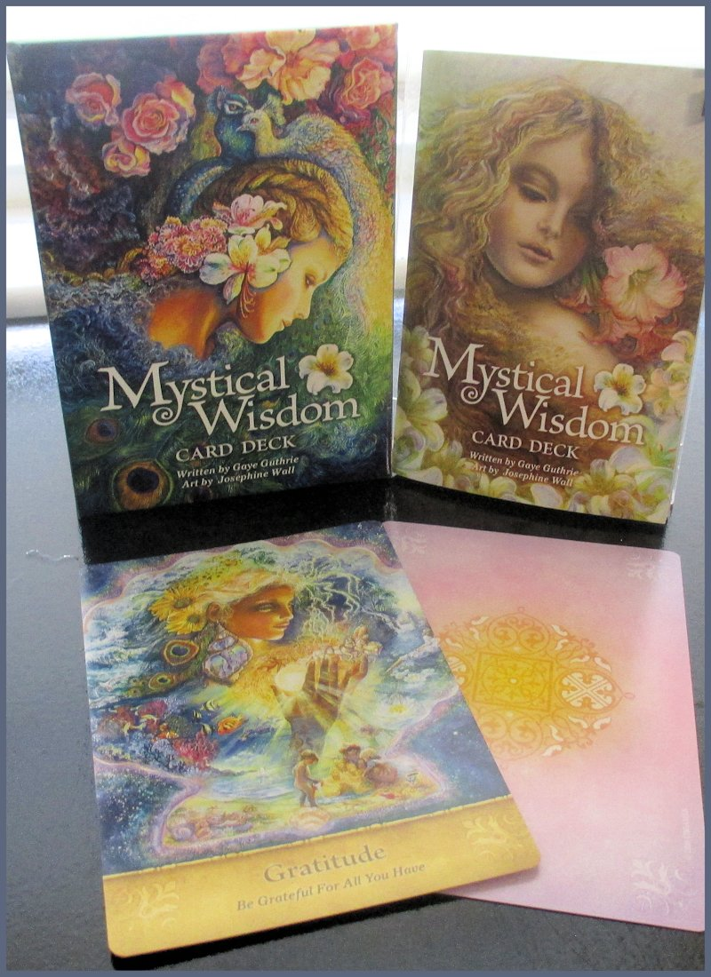 Card Deck With Guidebook By: Tarot Notes: Review: Mystical Wisdom Card Deck