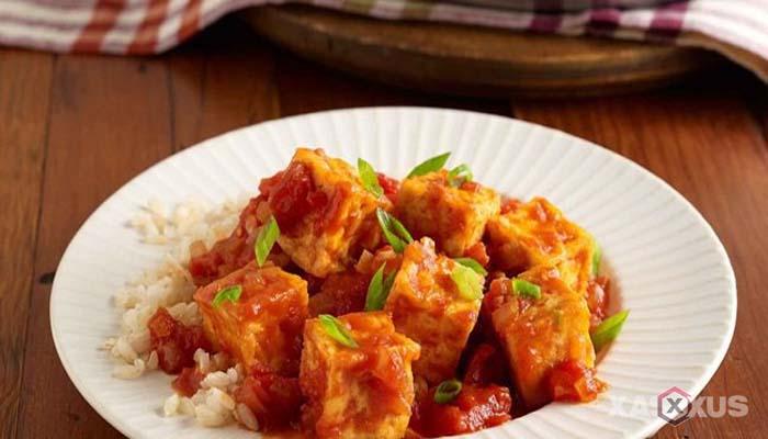 Resep cara membuat sambal goreng tahu
