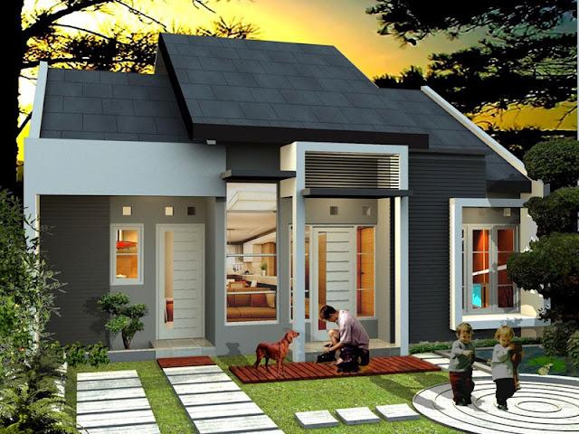 rumah gaya natural