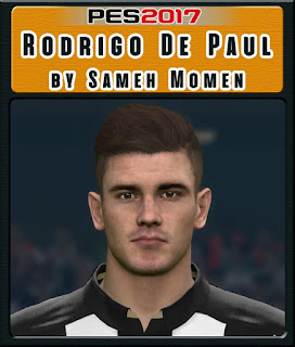 PES 2017 Faces Rodrigo De Paul by Sameh Momen